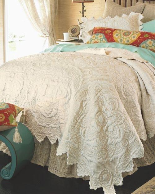 rarelypins: Chantelle Quilt - Soft Cotton Quilt, Medallion Qui ... : soft cotton quilt - Adamdwight.com