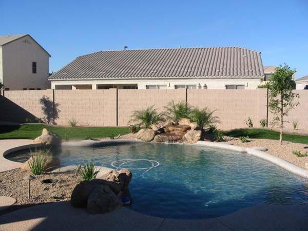 desert garden ideas desert pool landscaping ideas 300x225 desert