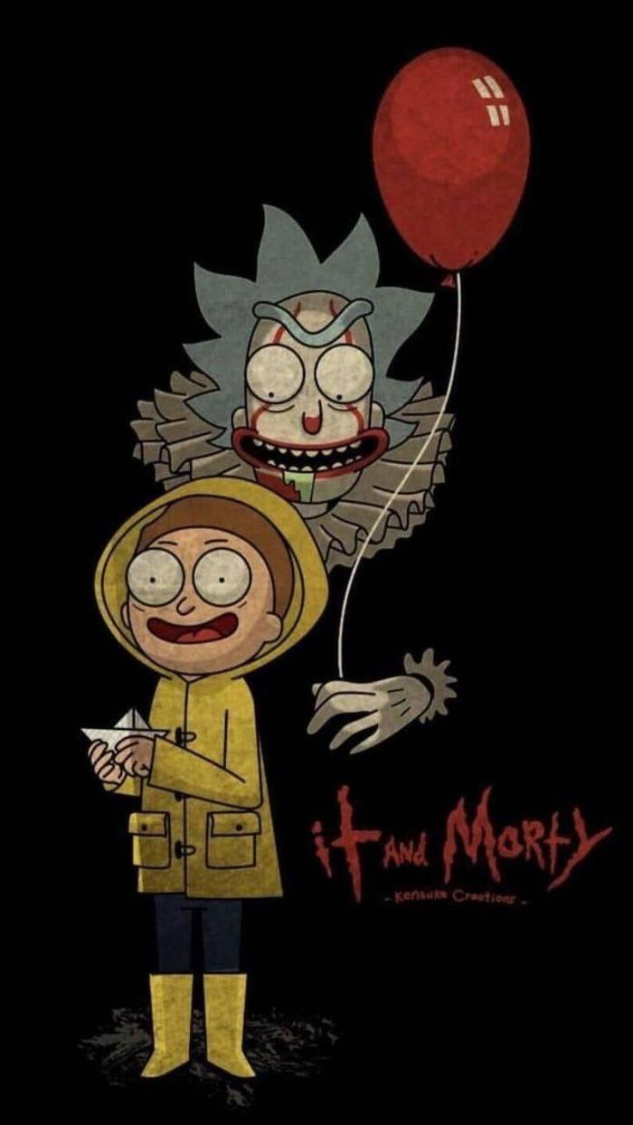 It And Morty Fondo De Pantalla Halloween Fondo De Pantalla De Anime Fondos De Pantalla De Drogas