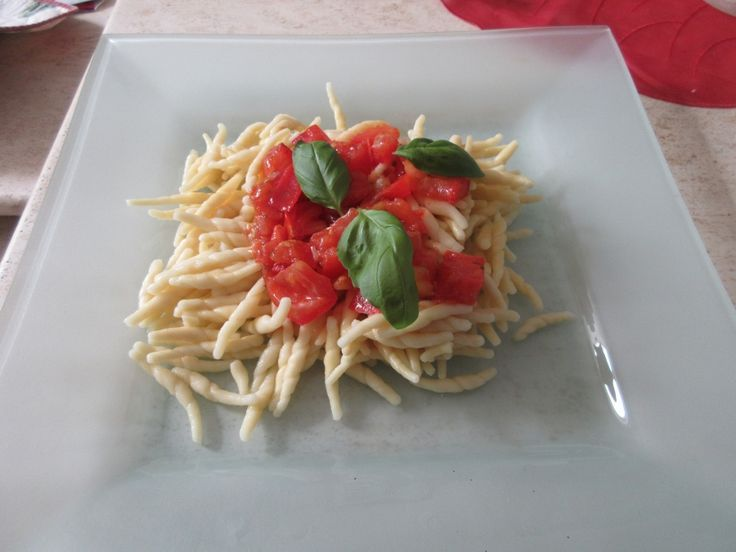 geschmolzene tomaten