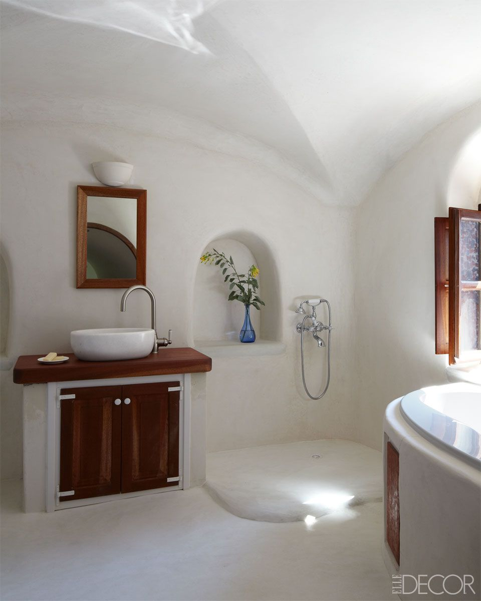 Love This Bathroom Dreamy Greek Island Home Vanessalarson