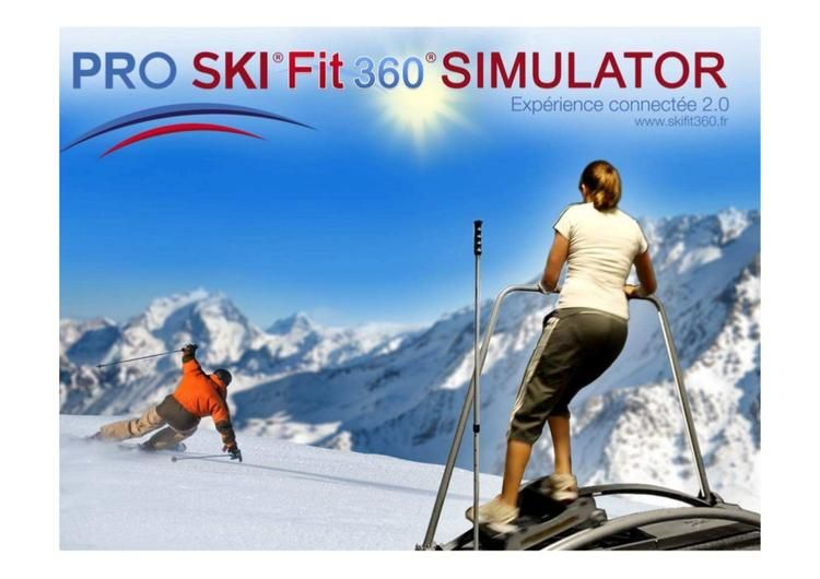 Ski Well In The Warm With The Ski Fit 360 Simulator In 2021 Ski Better Fitness Skiing