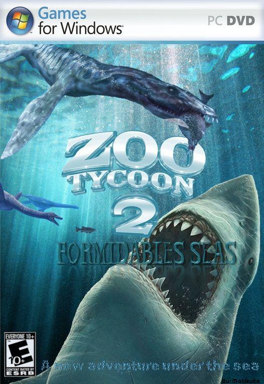 Zoo Tycoon 2 Formidable Seas Zoo Kids Poster