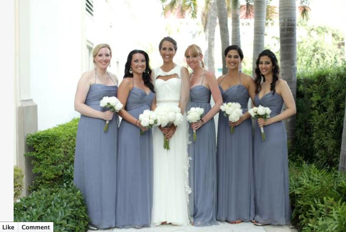Amsale Slate | Bridesmaid dresses | Pinterest | Slate