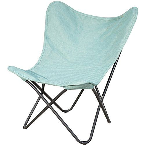Introducing PatioPost Outdoor C&ing Butterfly Chair with Black Steel Frame and Replacement Cover Home Office Furniture Blue. Great Product and follow us ...  sc 1 st  Pinterest & Introducing PatioPost Outdoor Camping Butterfly Chair with Black ...