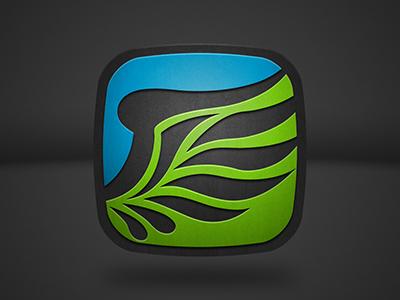 New Blaq Icon | My Work | Icon design, App icon, Logos
