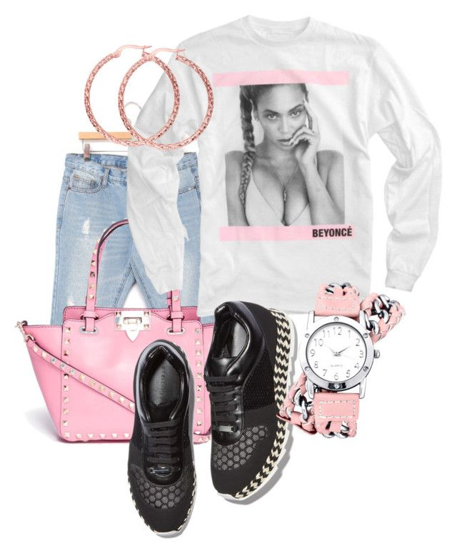 """""""BEYONCÉ"""" by naviaux ❤ liked on Polyvore featuring Valentino, STELLA McCARTNEY, Decree, BillyTheTree, women's clothing, women, female, woman, misses and juniors"""