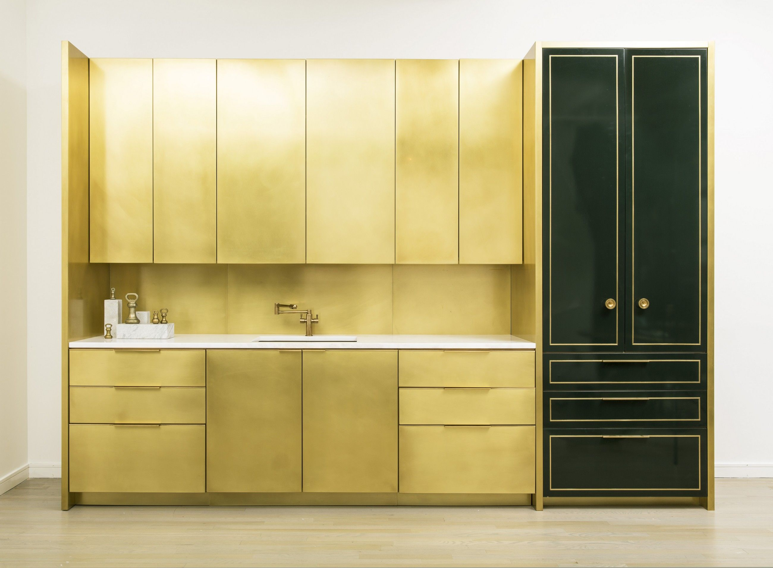 Amuneal Manufacturing Corp - Product - Brass Kitchen