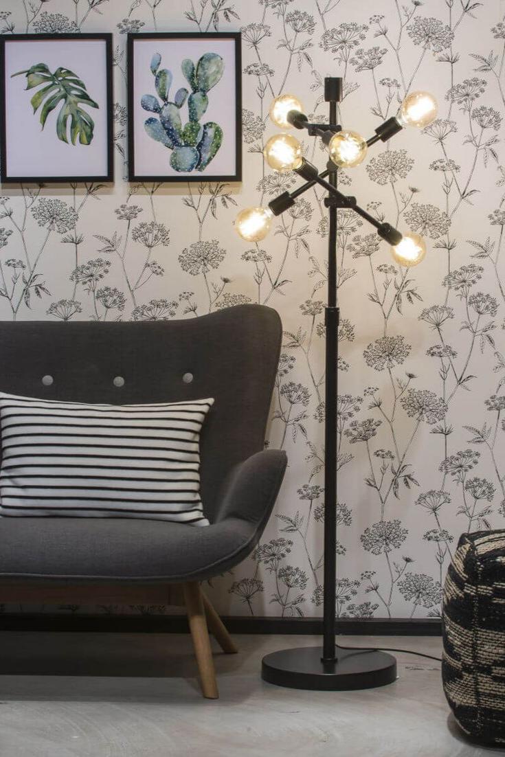 Stehlampe Nashville In 2020 Stehlampe Designer Stehleuchten Und Wohnzimmer Bodenbelag