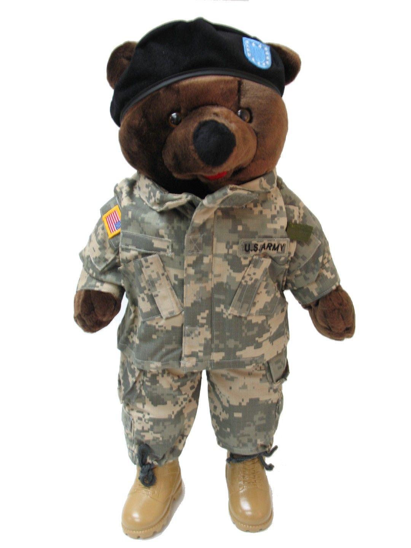 d08232b1d Army Combat Uniform Male - Large Teddy Bear 19