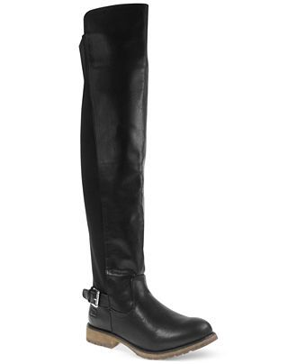 Dirty Laundry Ready To Go 50/50 Boots - Over the Knee Boots - Shoes - Macy's