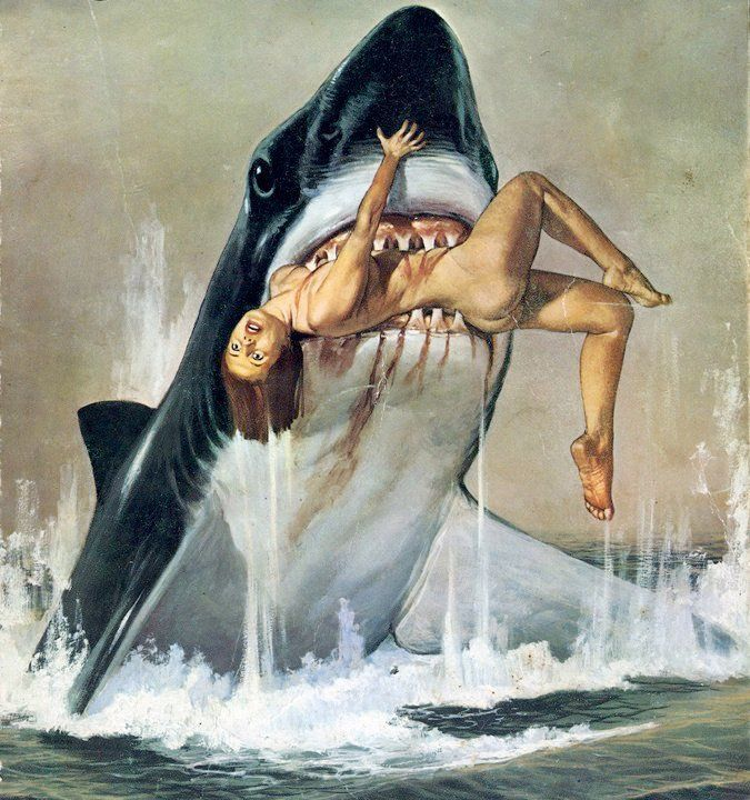 Erotic places with shark attacks