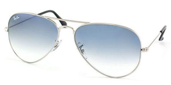 Ray Ban Rb3025 Aviator Gradient 003 3f Sonnenbrille Silber Ray Ban Aviators Ray Bans Ray Ban Sunglasses Sale