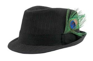 Girls Fedora Hats   Girls - Hats ::: Feather...