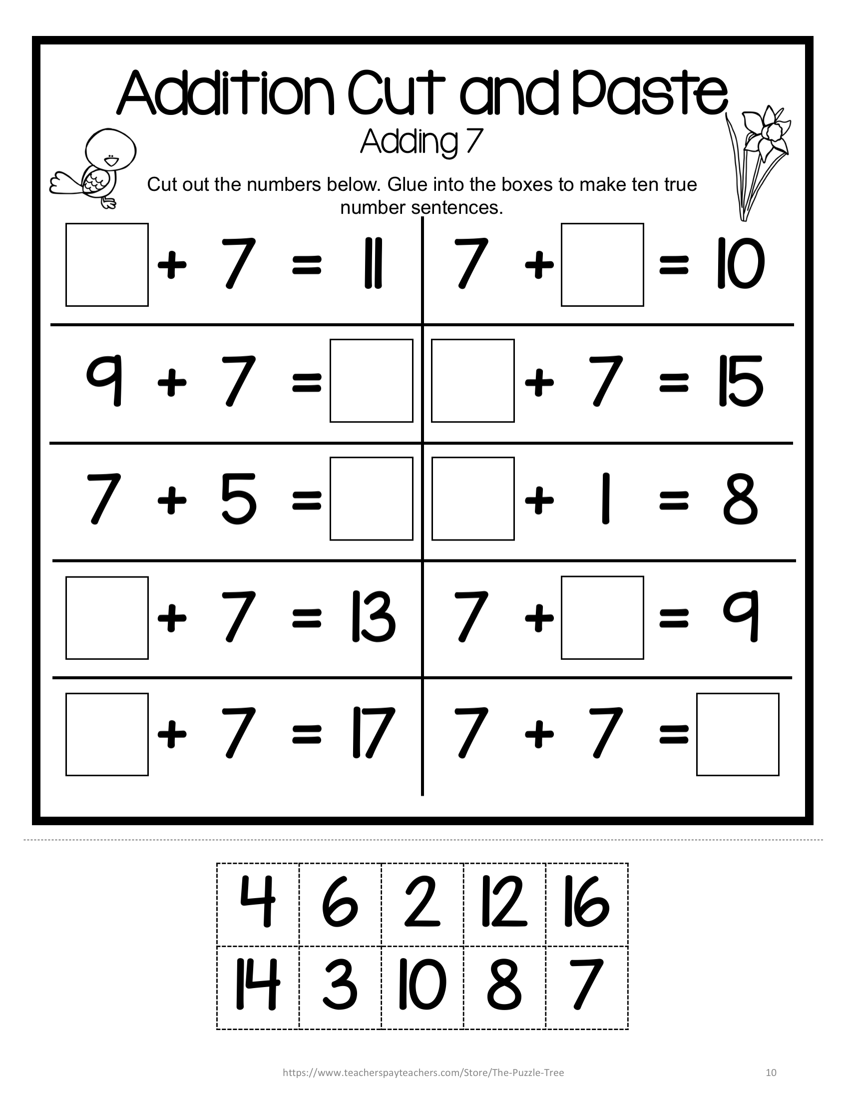 Pin On Math For First Grade [ 2190 x 1692 Pixel ]