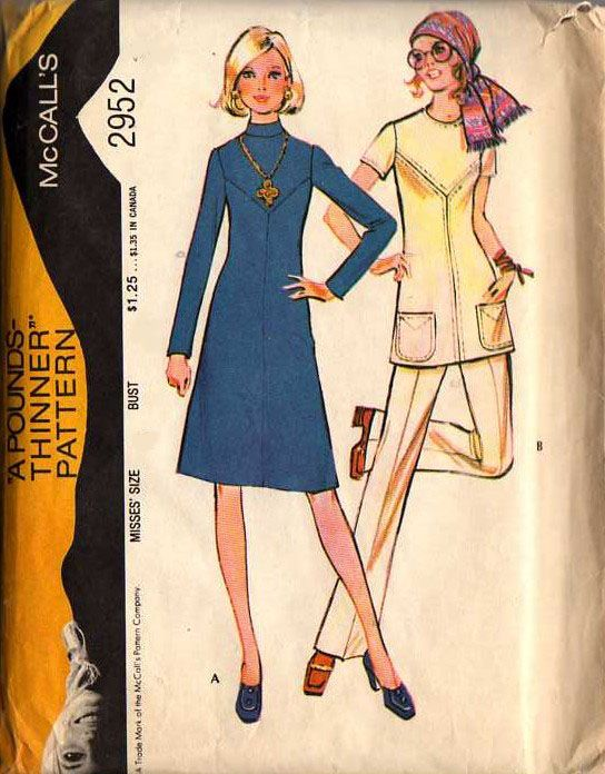 I used this pattern in the 70's! / vintage clothing