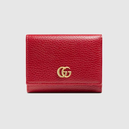 40147e363cef2a GUCCI Gg Marmont Leather Wallet. #gucci #women's small wallets ...