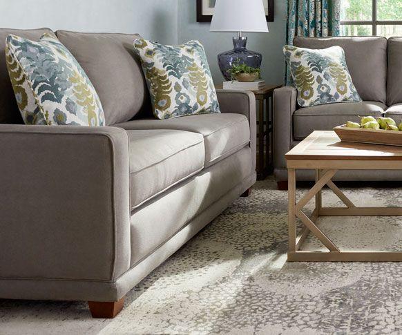 kennedy apartment sofa  grand home furnishings  0234929
