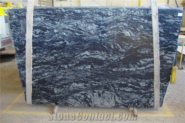Blue Fantasy Brazil Granite Slabs Stonecontact Com Granite Slab Stone Slab Granite