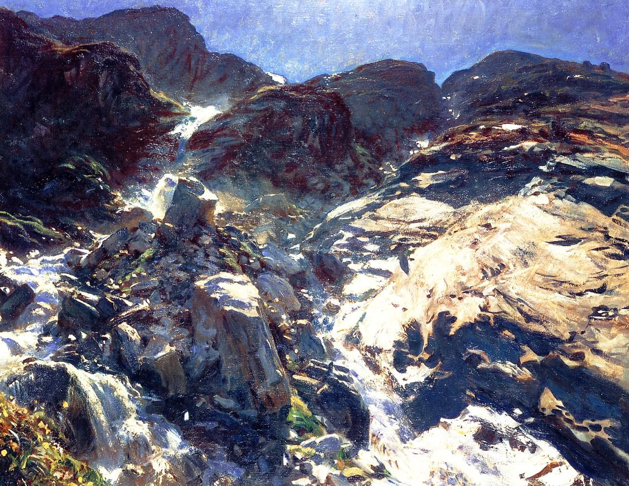 John Singer Sargent - I have seen very few of his landscapes.  But, amazing as always.