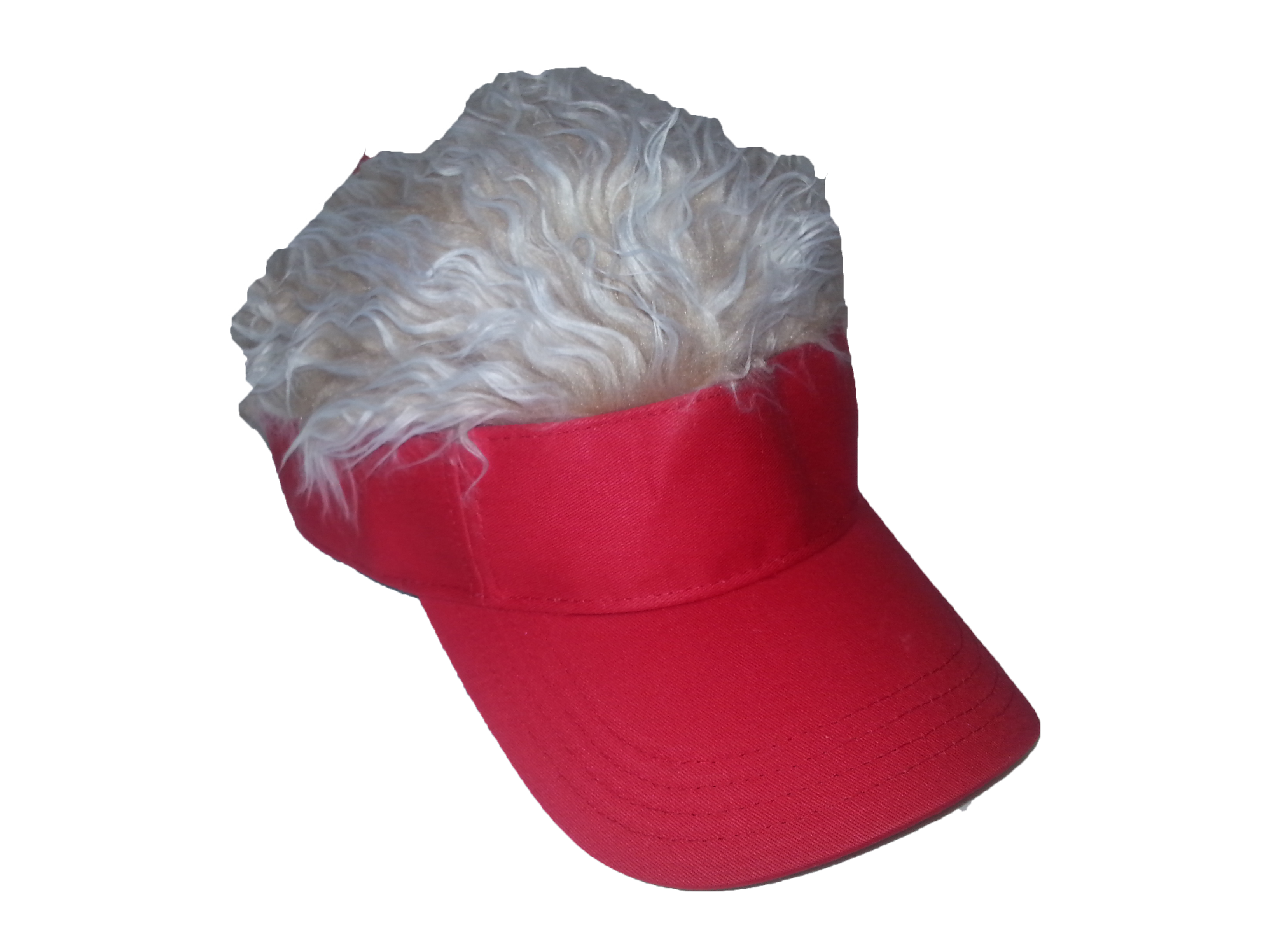 Guy Fieri Flair Hair Red Visor with Blonde Hair  ConceptOne  FlairHair 5a5282a24aac