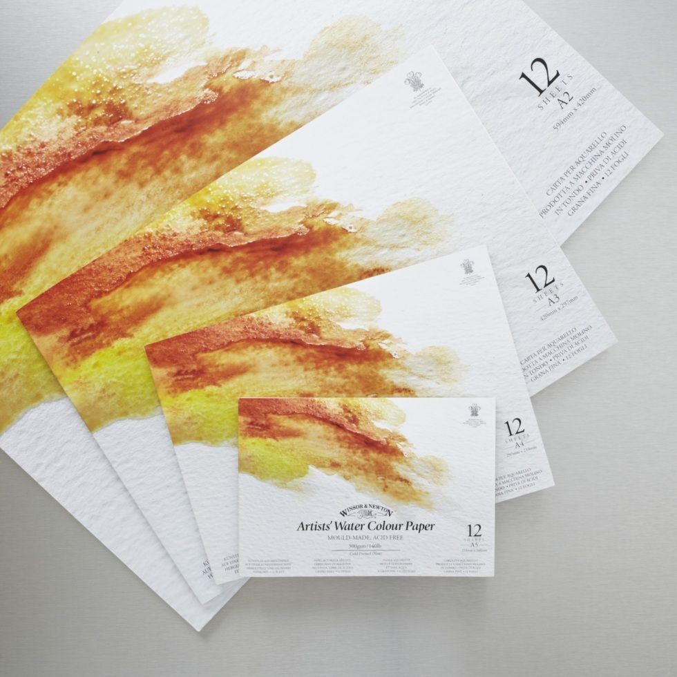Lovely And Thick Watercolour Paper We Used It At The Workshop