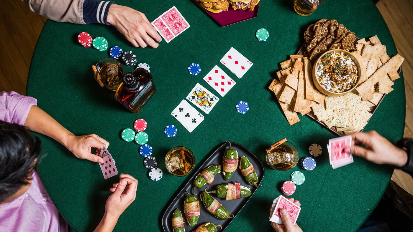 Raise the Bar on Poker Night - Poker night, Night food ...