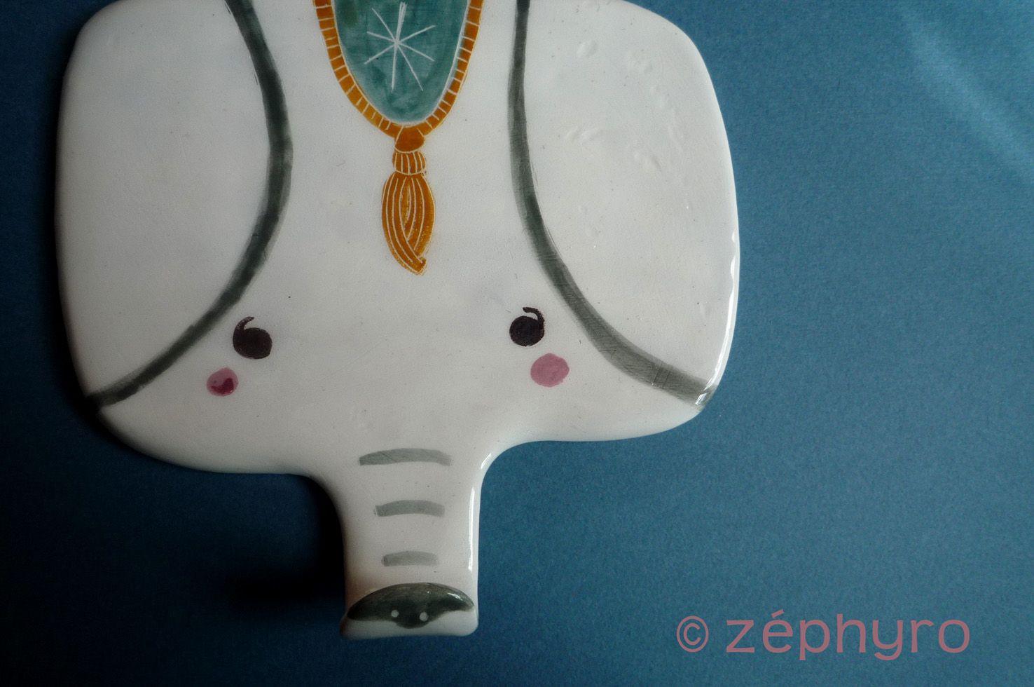 ceramic coat hooks by Zéphyro, France    Kickcan & Conkers