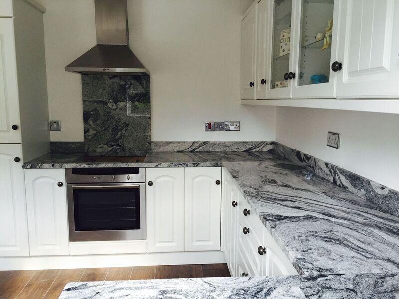 viscount white granite - White Granite Kitchen