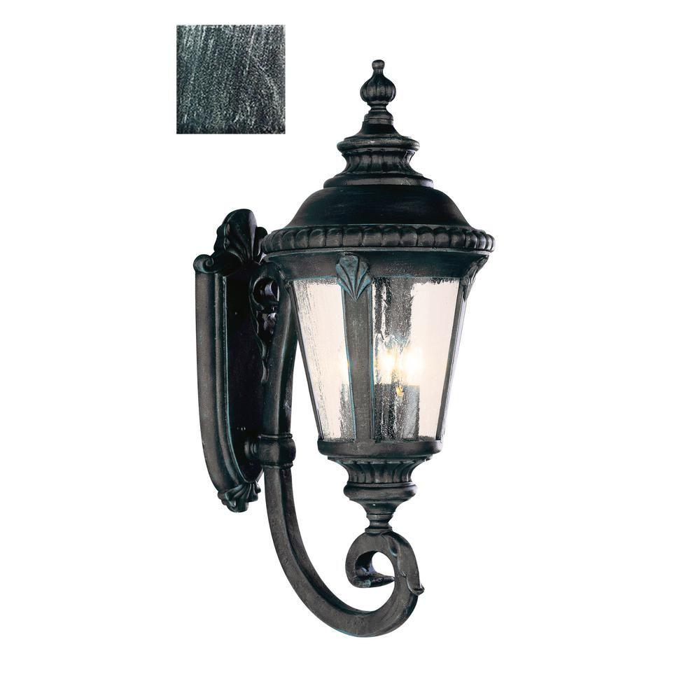 Commons light swedish iron outdoor wall mount lantern