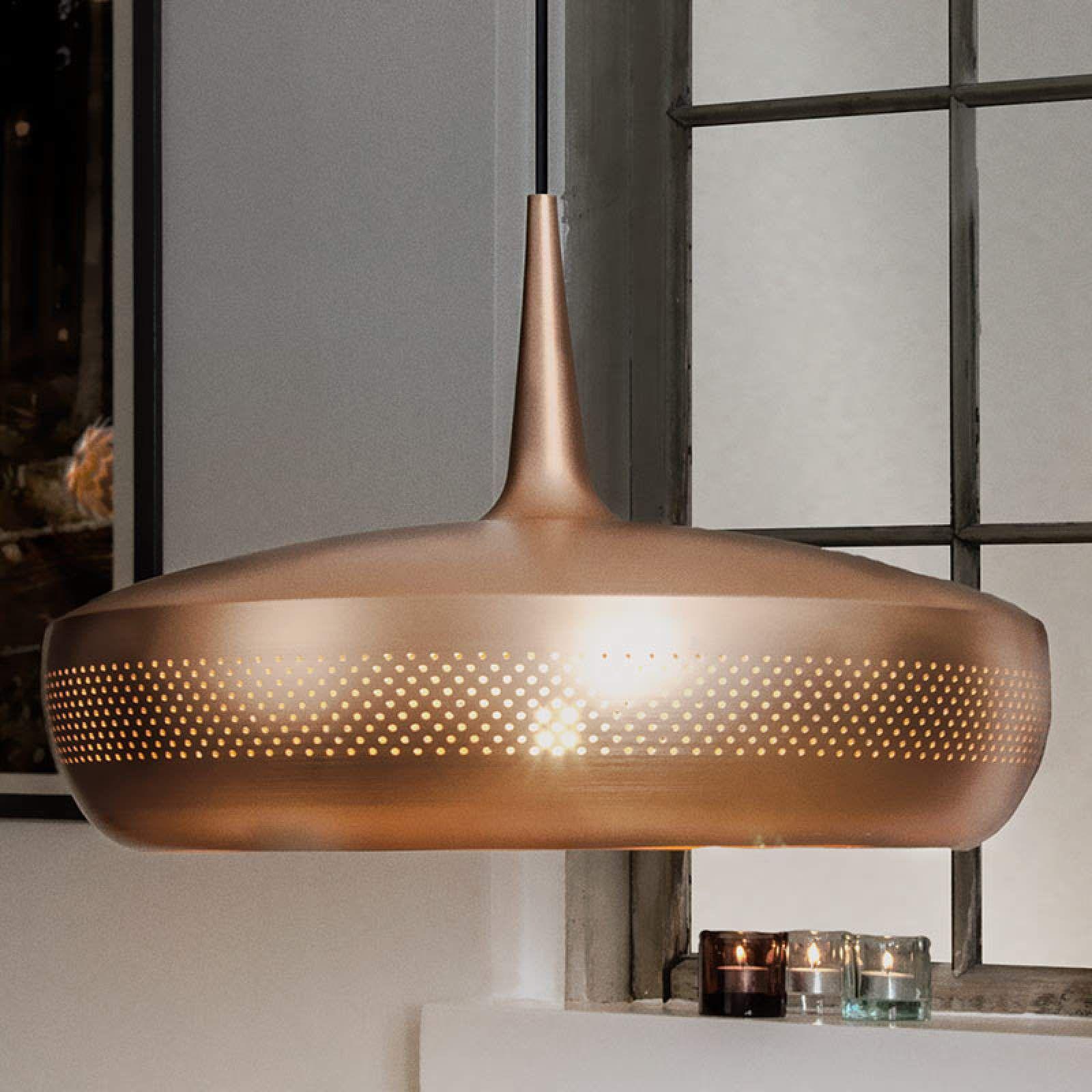 Designer Pendel Und Hangeleuchten Clava Dine Von Umage Kupfer Hange Lampe Lampen Und Glas Badezimmer