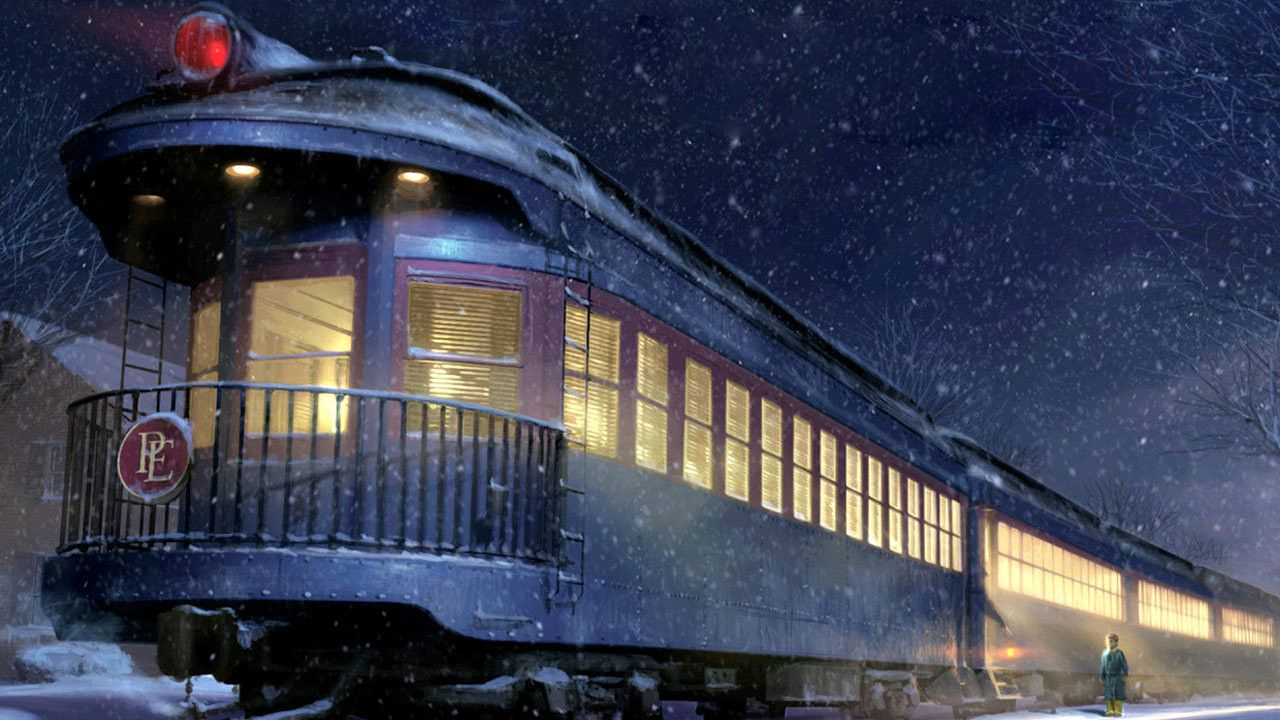 Polar Express Christmas Train Movie.Polar Express Caboose Christmas The Most Wonderful Time