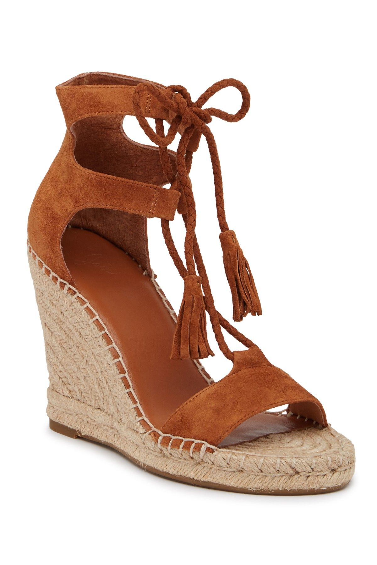 ebea8ba2eb7 Joie | Delilah Espadrille Suede Wedge Sandal | Products | Wedge ...