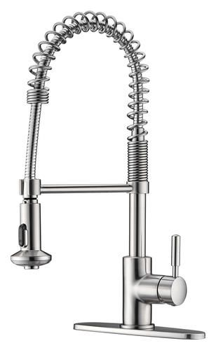 Tuscany Volk Single-Handle Pull-Down Coil Kitchen Faucet | new ...