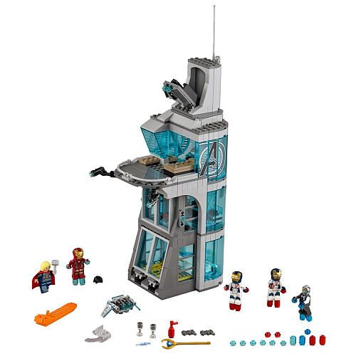"LEGO Super Heroes Attack on Avengers Tower 76038 - LEGO - Toys ""R ..."