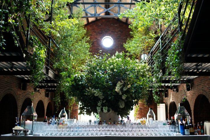 The Foundry LIC Wedding Wedding reception inspiration