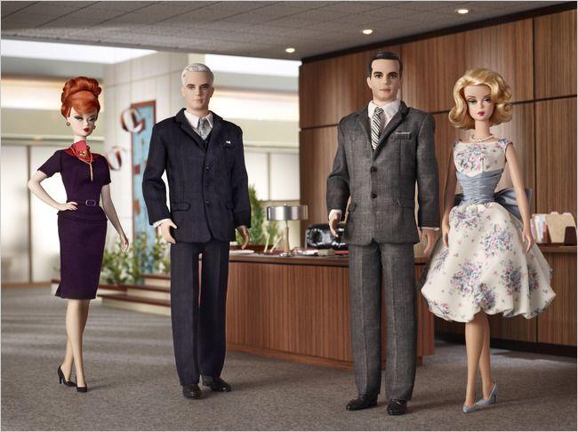 Image detail for -Barbie Ken Mad Men Dolls