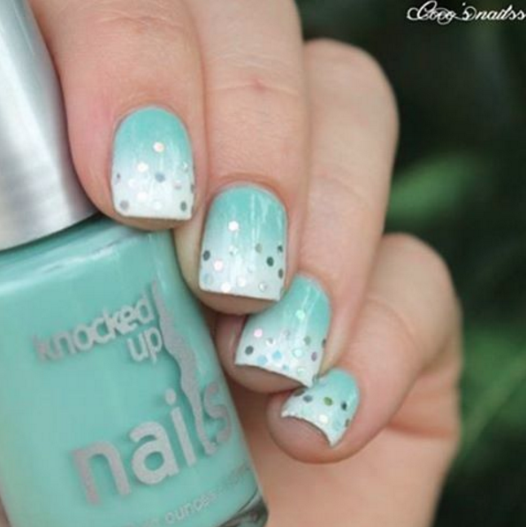 I Earned a Little Blue Box | Knocked Up Nails | Pinterest | Vegan ...