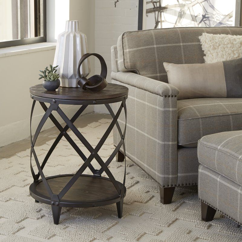 Beckfield End Table End Tables Living Room End Tables Metal Accent Table