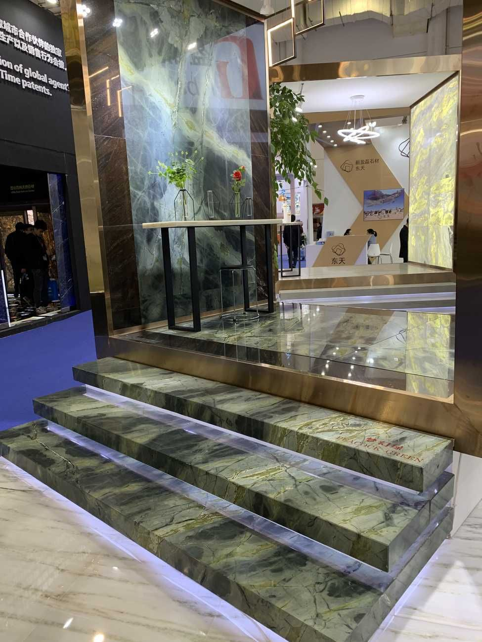 Peacock Green Marble Stairs By Ck Stones Thailand Marble Green Green Marble Home Stairs Design Marble Stairs