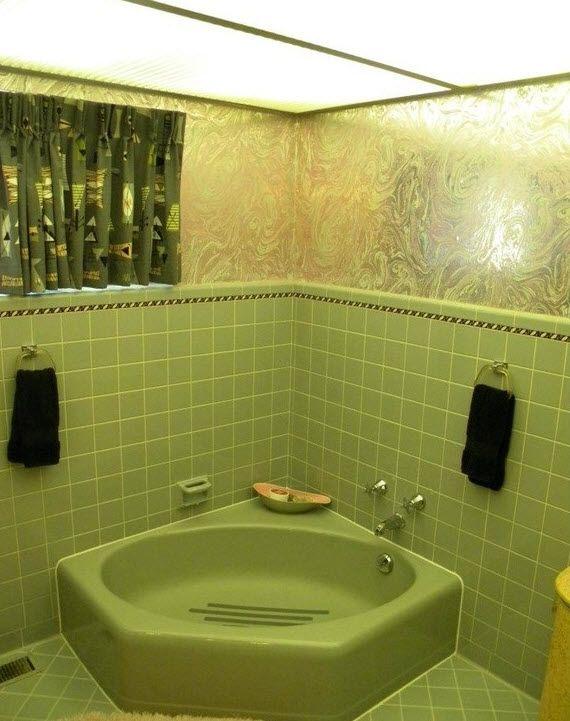 36 1950s green bathroom tile ideas and pictures | Art deco bathroom ...