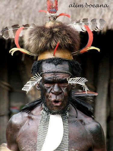 Dani Tribe, Papua; Indonesia  Nieuw Guinea, Irian Jaya, Papua  Papua New Guinea, West papua