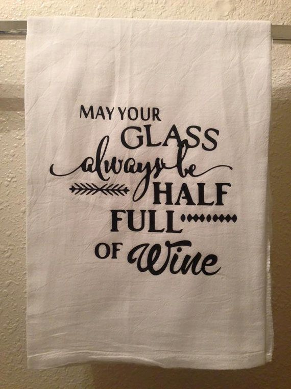 Farmhouse Kitchen Towel Funny Kitchen Towel May Your