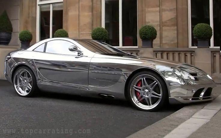 2010 mercedes-benz slr mclaren v10 quad-turbo brabus white gold