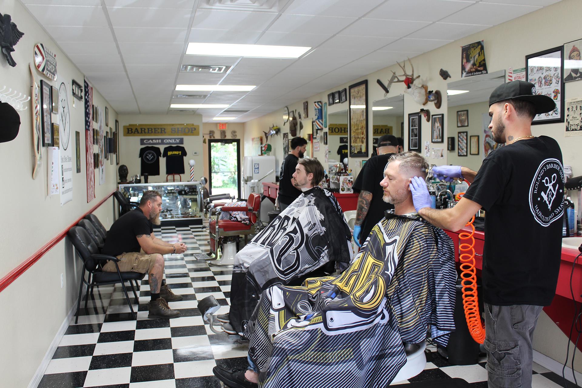 Roland S Barber Shop In Ocala Fl Vagaro Barber Shop Barber