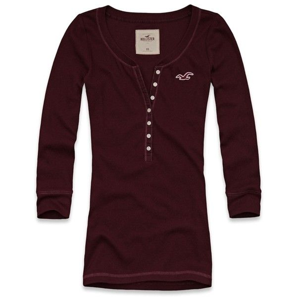 Hollister Co Calabasas Tee ❤ liked on Polyvore