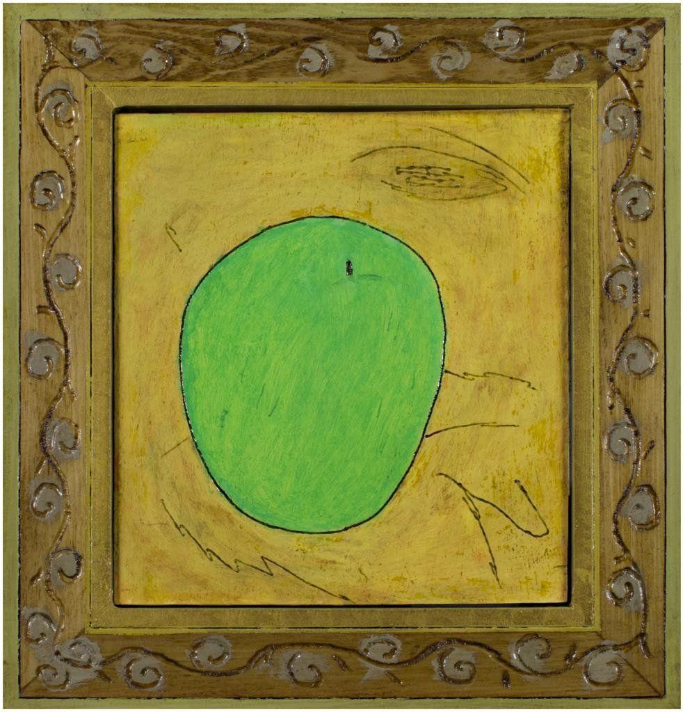 Green Apple, Oil, Robert Richter ($1,600)