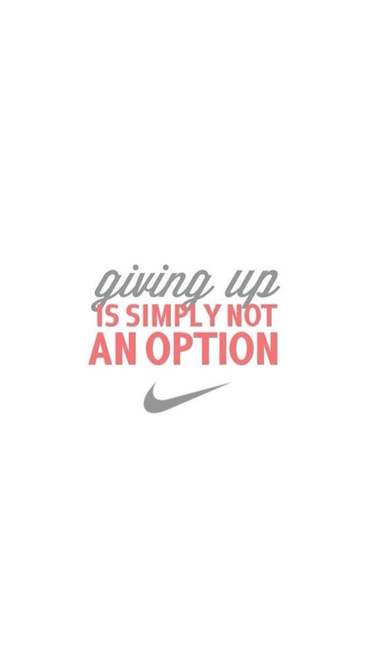 Never An Option For Me J Fitness Wallpaper Iphone Fitness