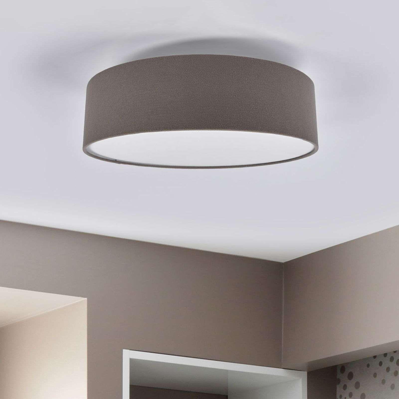Moderne Deckenleuchte Von Lucande Grau In 2020 Beleuchtung Decke Led Deckenleuchte Flach Indirekte Deckenbeleuchtung