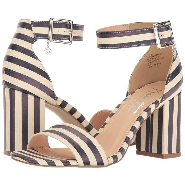 dd53f80fb3f2 Nanette nanette lepore Tilda (Blue Off-White Stripe) Women s Shoes ( 71)  via Polyvore featuring shoes